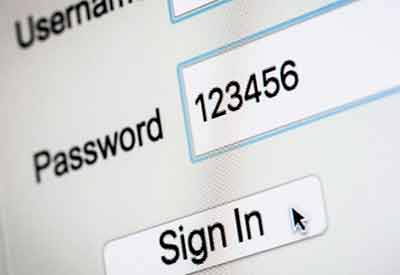 Not simple passwords