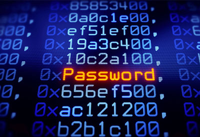 Password security is ensured by validating passwords