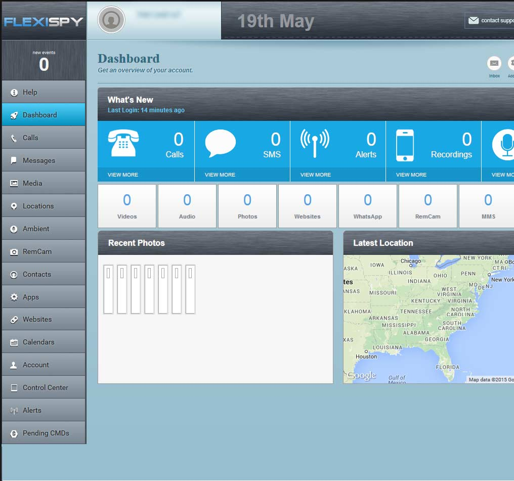 flexispy-control-panel-screenshot