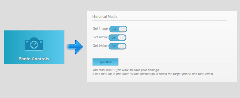 setting-up-flexispys-get-historical-media-feature-screenshot