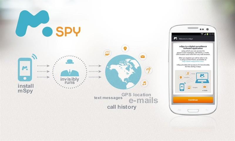 mSpy spy app