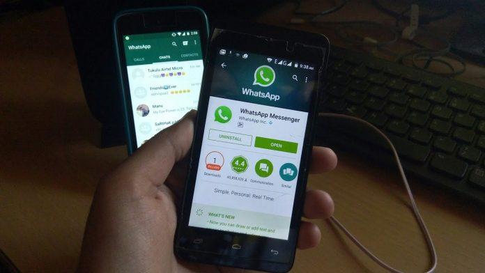 Hacking a WhatsApp Sending them an image