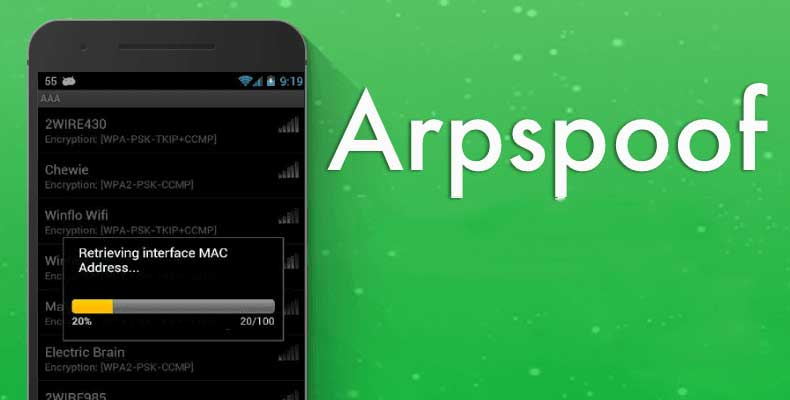 Arpspoof WiFi Hacking Apps for Android