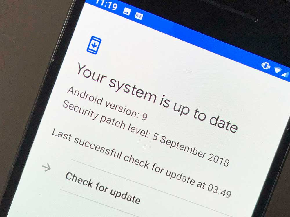 Update apps to Protect Your Android